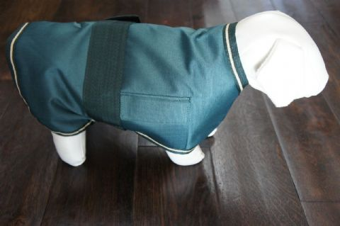 "WEATHERPROOF DOG COAT 12"" WATERPROOF WINDPROOF BREATHABLE"